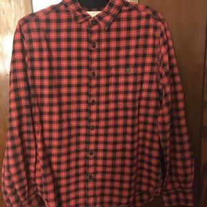 Black and red flannel